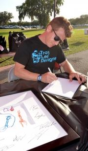 Patrick Signing